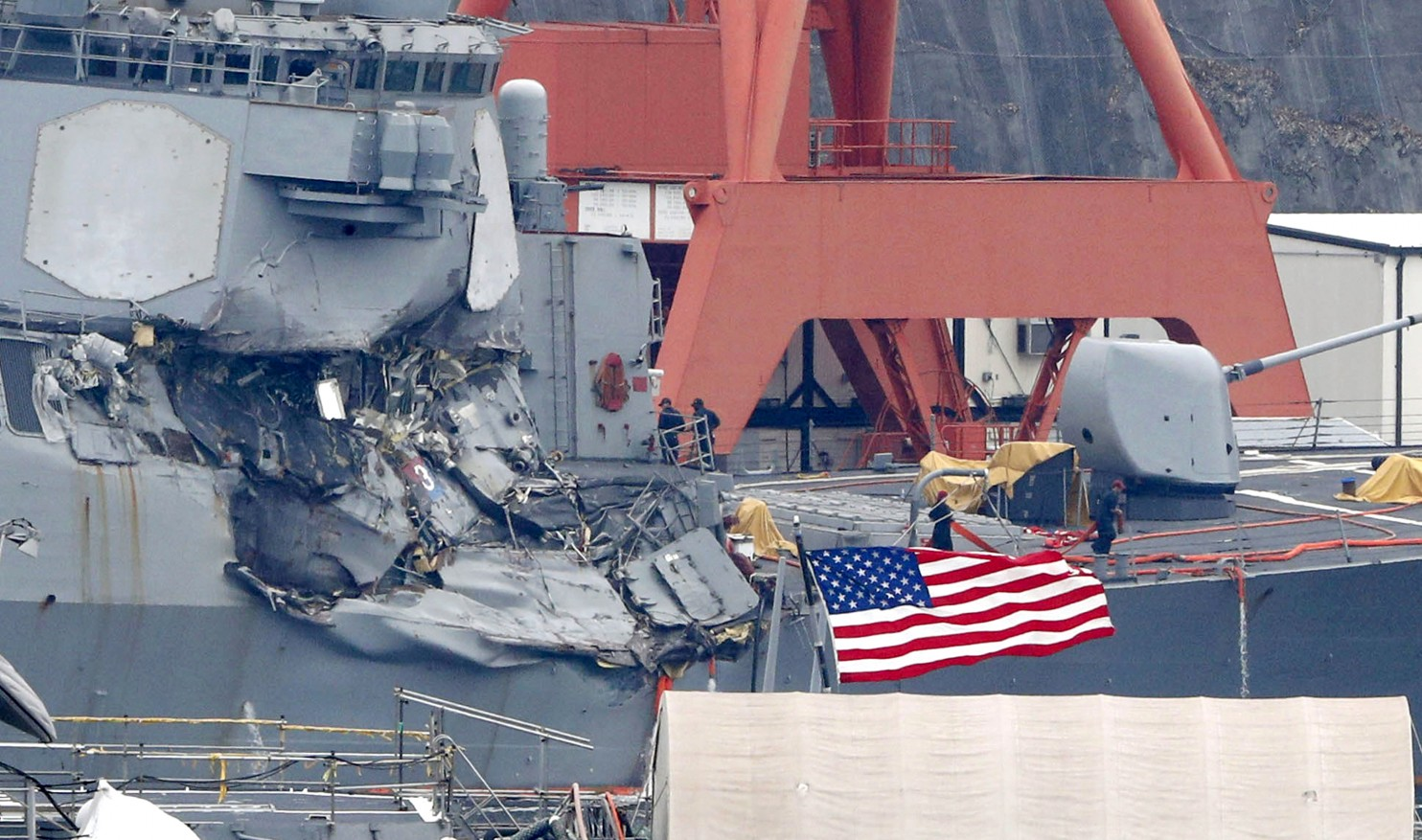 USS FitzGerald, One Radioactive Ship Down 20 more to go